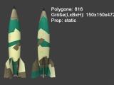 V2 Rocket + Launcher