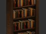 bookshelf created by ultradr3mer
