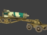 V2 Rocket + Launcher  created by ProgSys