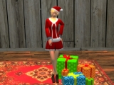 Xmas Lady created by luthio1