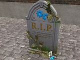 GM Grabstein/gravestone