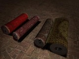 Teppichrollen / Carpet rolls