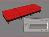 rote Couch created by NORDSTADT