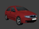Fabia car created by Dinus Saurus