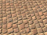dry paving stones